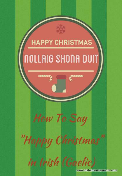 Happy Christmas in Irish