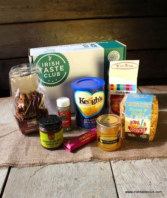 Irish Taste Club Sample Box