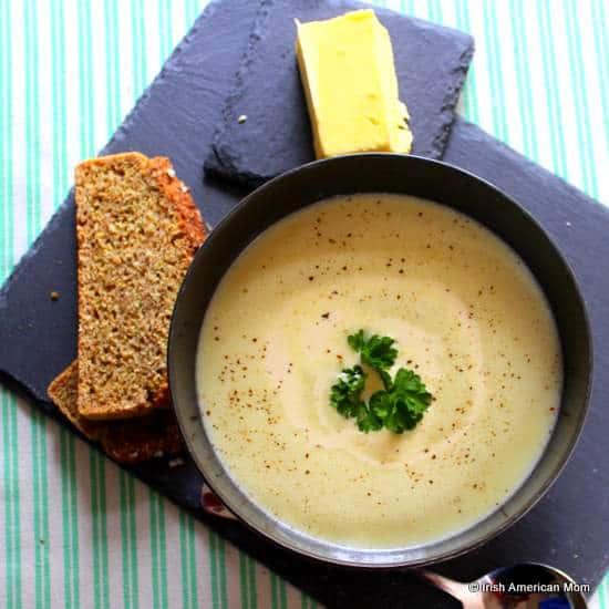 Traditional Irish Potato Soup