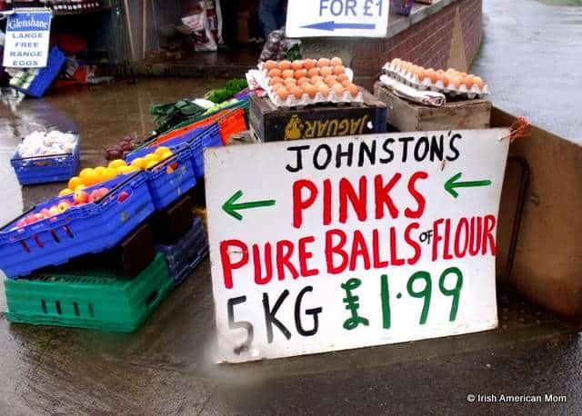Pure balls of flour