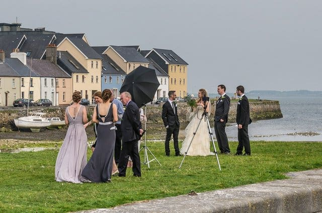 An Irish wedding in Galway Ireland