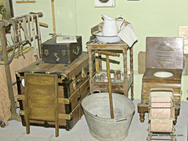 Memorabilia from Ireland in days gone by - Old Irish Ways Museum