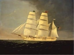 bark-catalpa-painted-by-charles-sidney-raleigh-donated-to-the-new-bedford-whaling-museum-by-mrs-james-a-ryan-in-1961