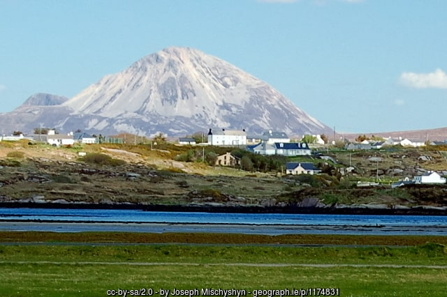 Mount Errigal as seen from Donegal Airport