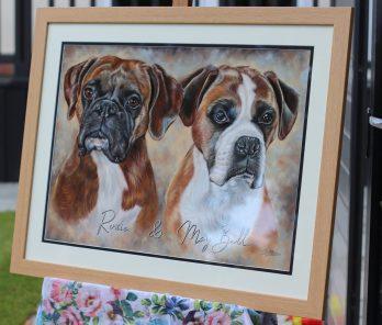 German-Boxers-Pastel-Portrait