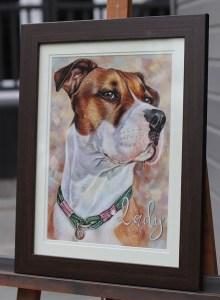 dog portrait uk