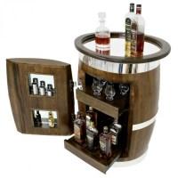 Oak Barrel Drinks Cabinet | online information