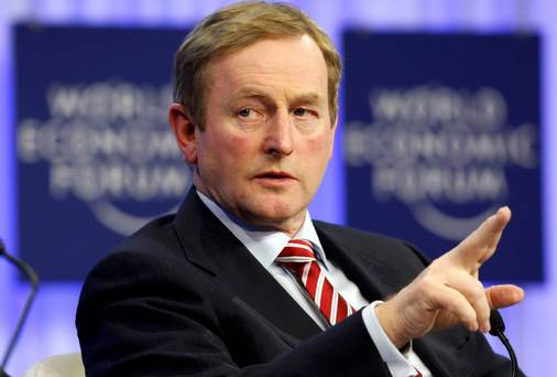 When was Enda right?