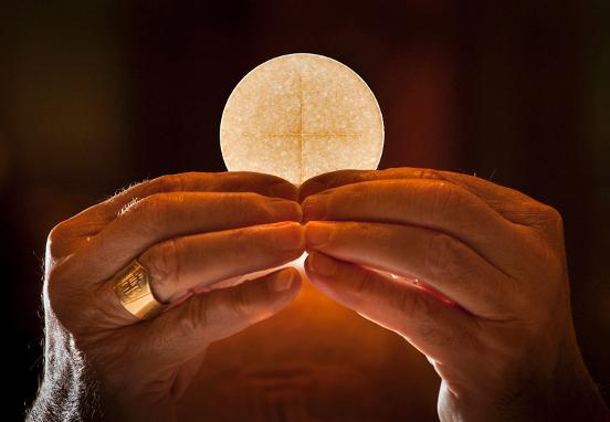 Eucharist is a source of new life