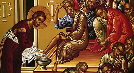 Holy Thursday foot-washing to reflect Christ's love for all