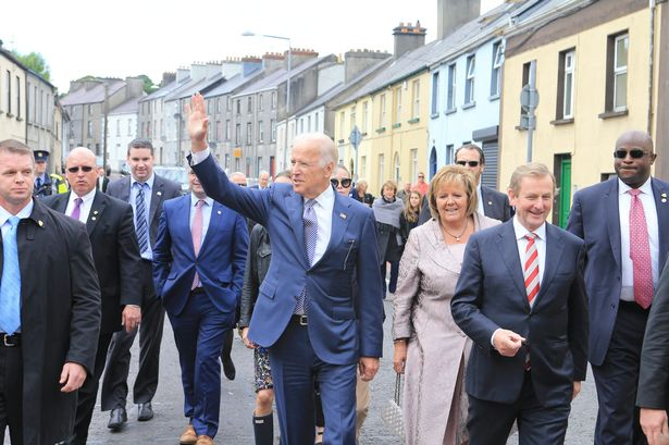 Joe Biden makes an impromptu visit to Dublin church for Mass