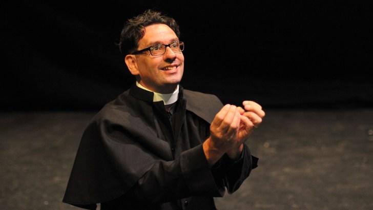 Heroic priest play set for American debut