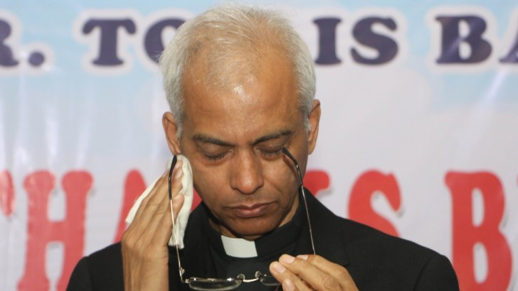 Kidnapped priest appears in video appeal