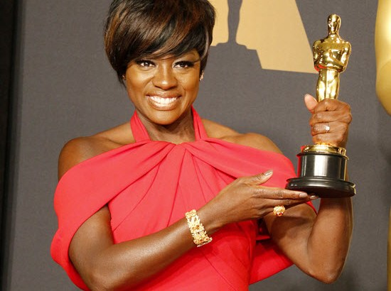 Award winner Viola Davis thanks God for success