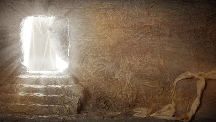 Resurrection will be our reality one day too