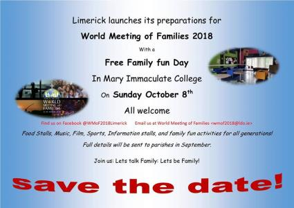 Limerick diocese is set to host family fun day