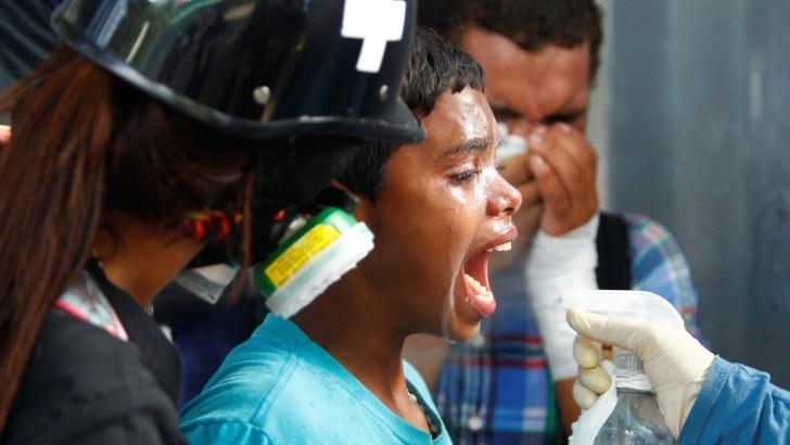 Victim of Venezuelan clashes