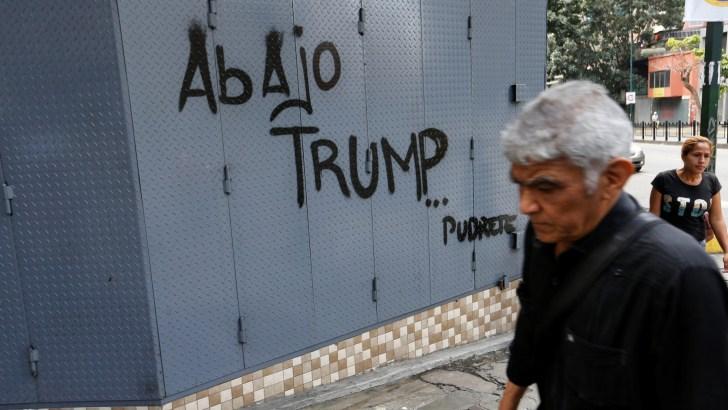 Blunt message from Venezuela