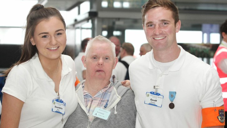 Challenge of building Faith in Lourdes' young volunteers