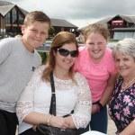 Josh Byrne, Sophie Grogan, Louise Fox and Bernadette Grogan at the picnic.