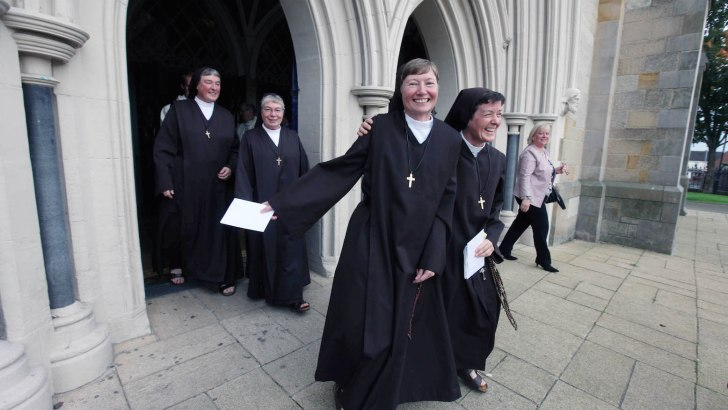 Taking next step in a nun's life