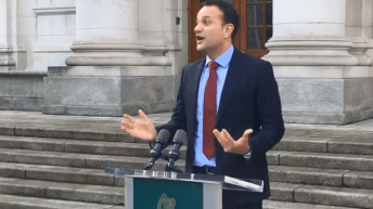 "Taoiseach says 12 weeks is ""one step too far"" for majority of public"