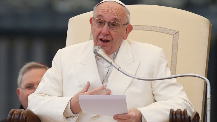 Love can become trapped inside us Pope says