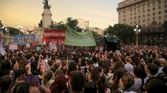 Country divided as Argentina move toward legal abortion