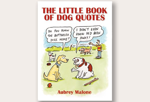 A book on dog quotes!