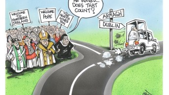 No Pope here?