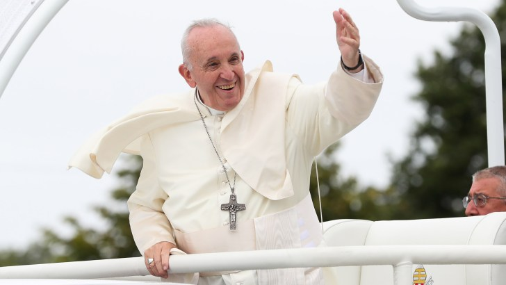 The Pope goes to the heart of wisdom and maturity