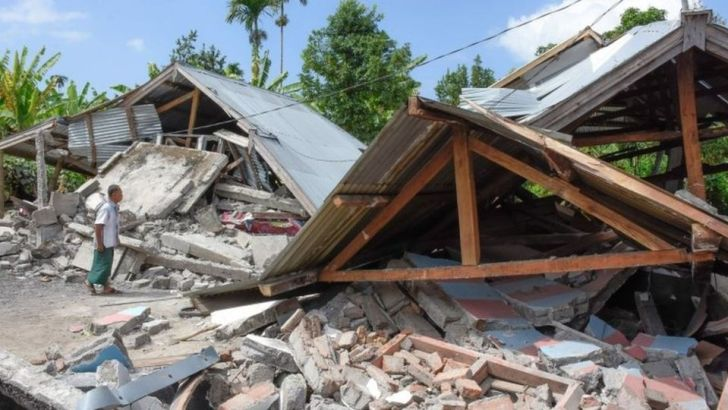 Calls for prayer after Indonesia's devastating earthquake