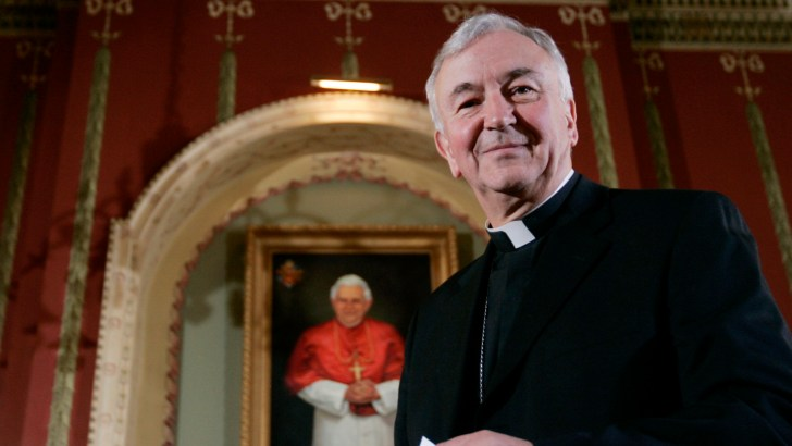 Angry voices marked papal visit – English cardinal