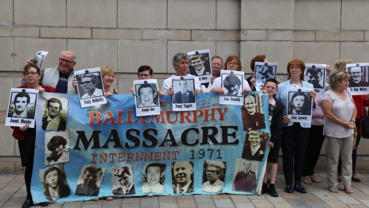 'First step towards justice' for Ballymurphy Massacre victims