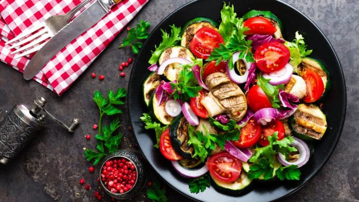 Climate change and a vegetarian diet