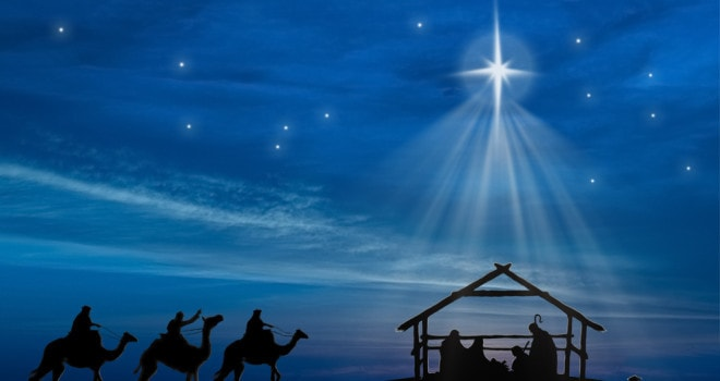 The only star we need follow leads us to the Nativity