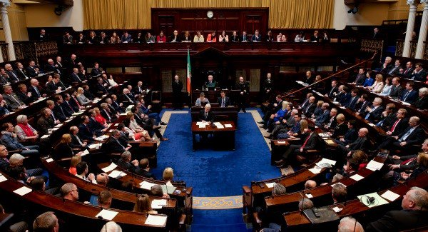 The over-rigid party whip system is a cancer in Irish politics