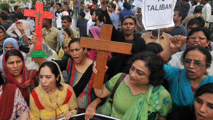 Britain orders global review of persecution of Christians