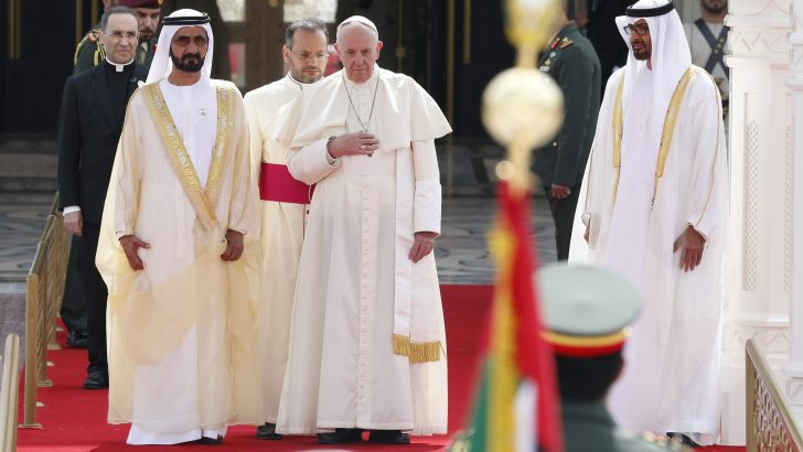 Pope opens first-ever trip to Arabian Peninsula touting dialogue and peace