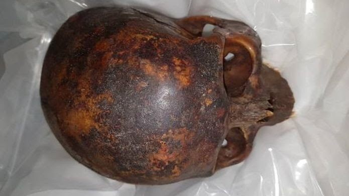 Young man arrested over 'desecration' and theft of 800-year-old skull at Dublin crypt
