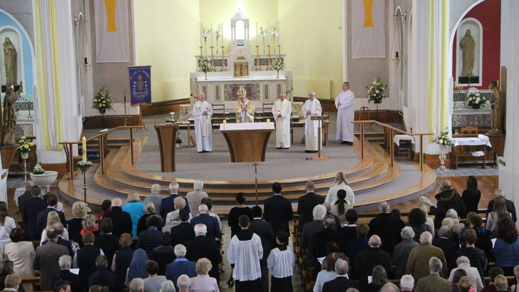 New altar for the ages is blessed in Sallynoggin