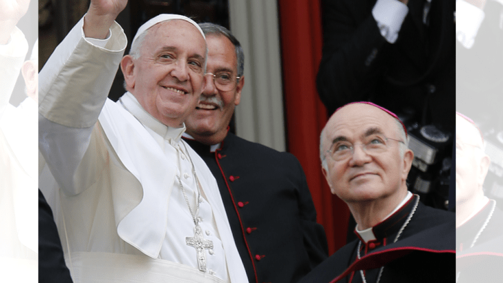 Pope in new interview: 'I knew nothing' about Theodore McCarrick