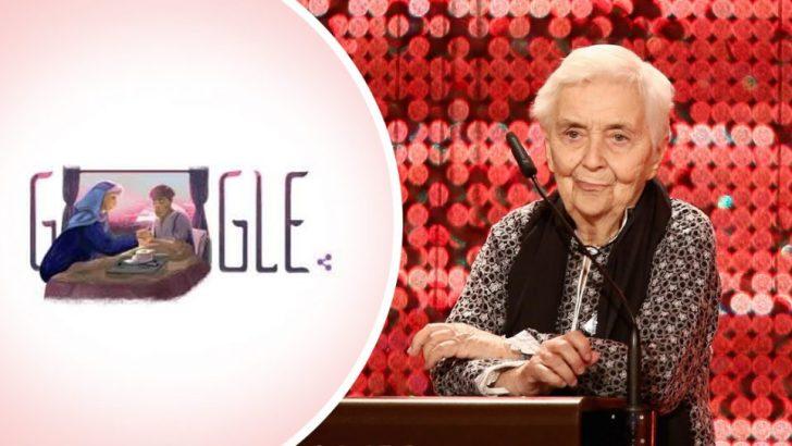 Internet giant honours heroic German nun
