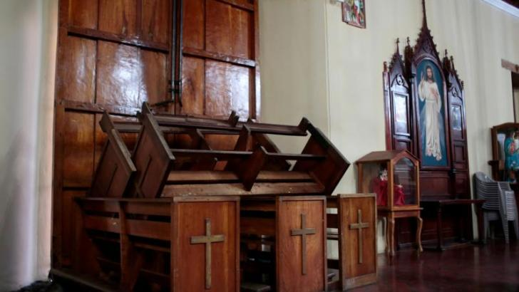 Nicaraguan churchgoers attacked by 'hyena' Sandinista mob