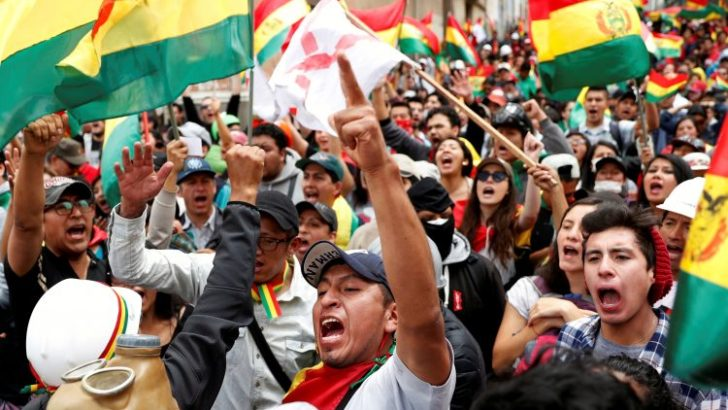 Bishops plead for peace after resignation of Bolivian president