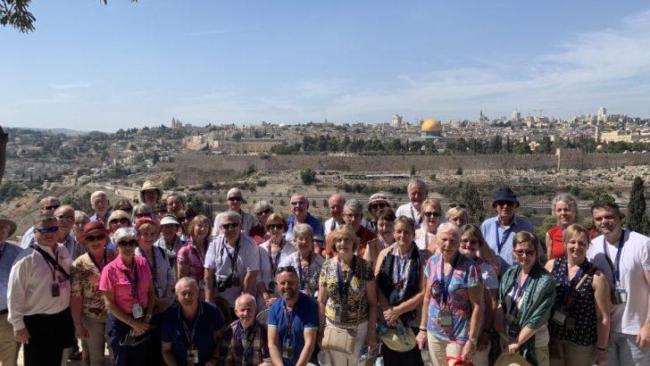 Irish Catholic pilgrims on trip of a lifetime in Holy Land