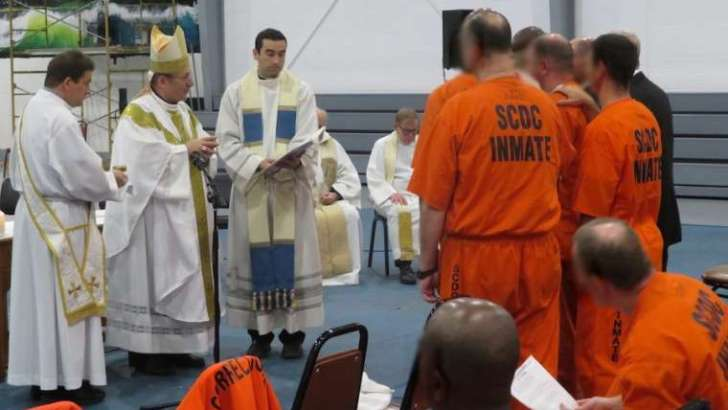 A US Catholic prison ministry changing lives and lifting spirits by 'doing time'