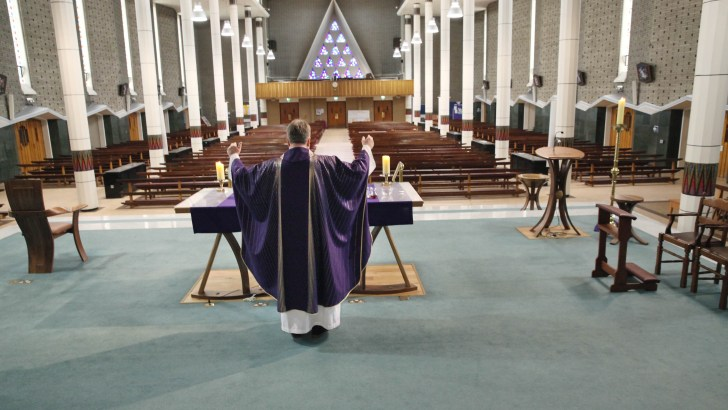 Plea for churches to remain open as millions tune in for online Masses from Ireland
