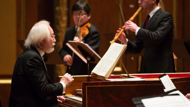Bach to the future as Suzuki leads magnificent ensemble