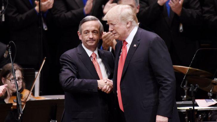 Priest slams Trump's Easter endorsement of 'anti-Catholic' pastor